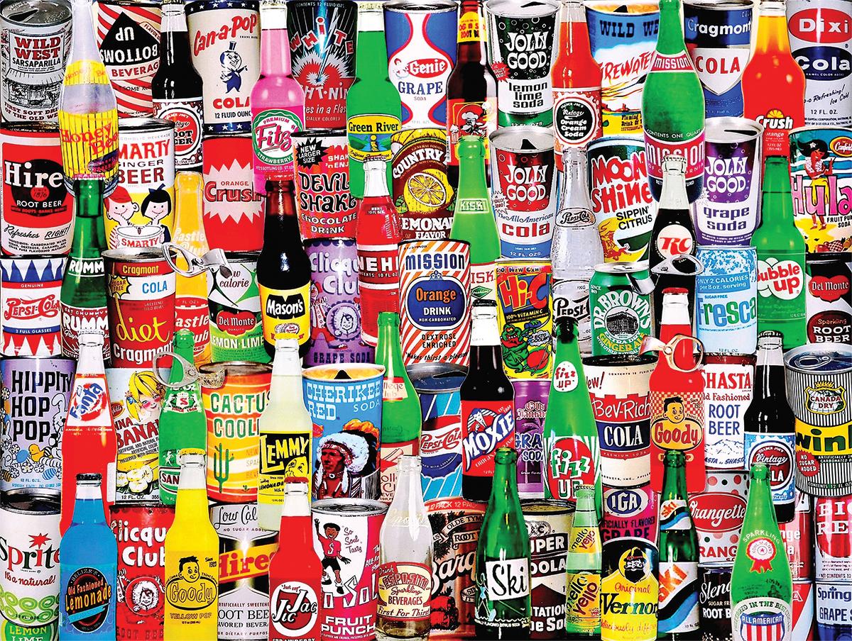Soda Pop Jigsaw Puzzle Puzzlewarehouse Com