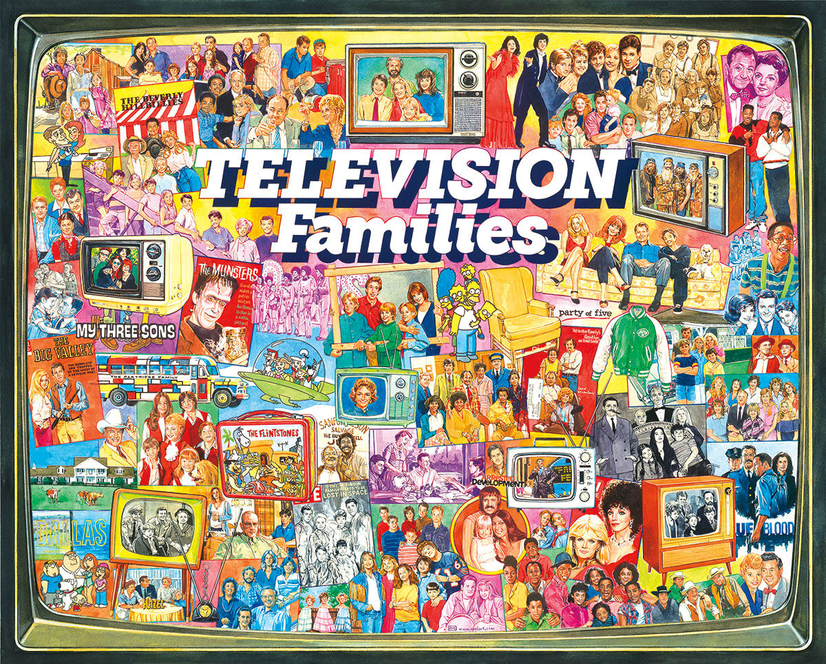 TV Families Graphics / Illustration Jigsaw Puzzle
