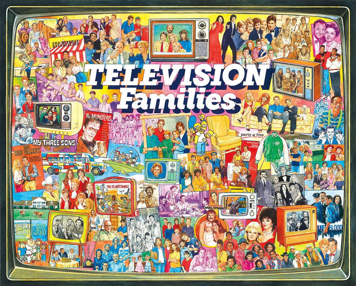 TV Families Graphics / Illustration Jigsaw Puzzle