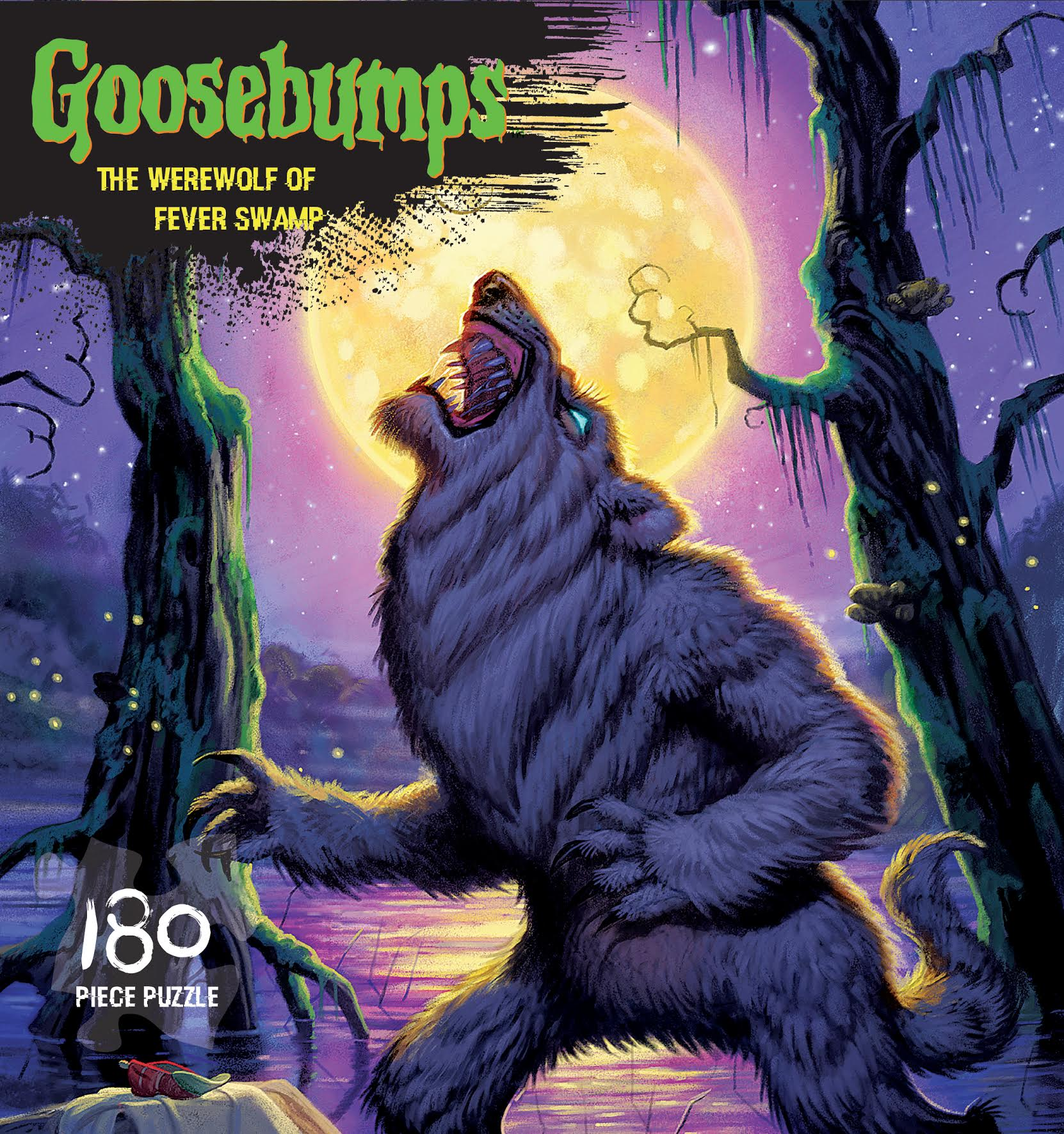 the werewolf of fever swamp goosebumps puzzle halloween jigsaw puzzle - Halloween Werewolf