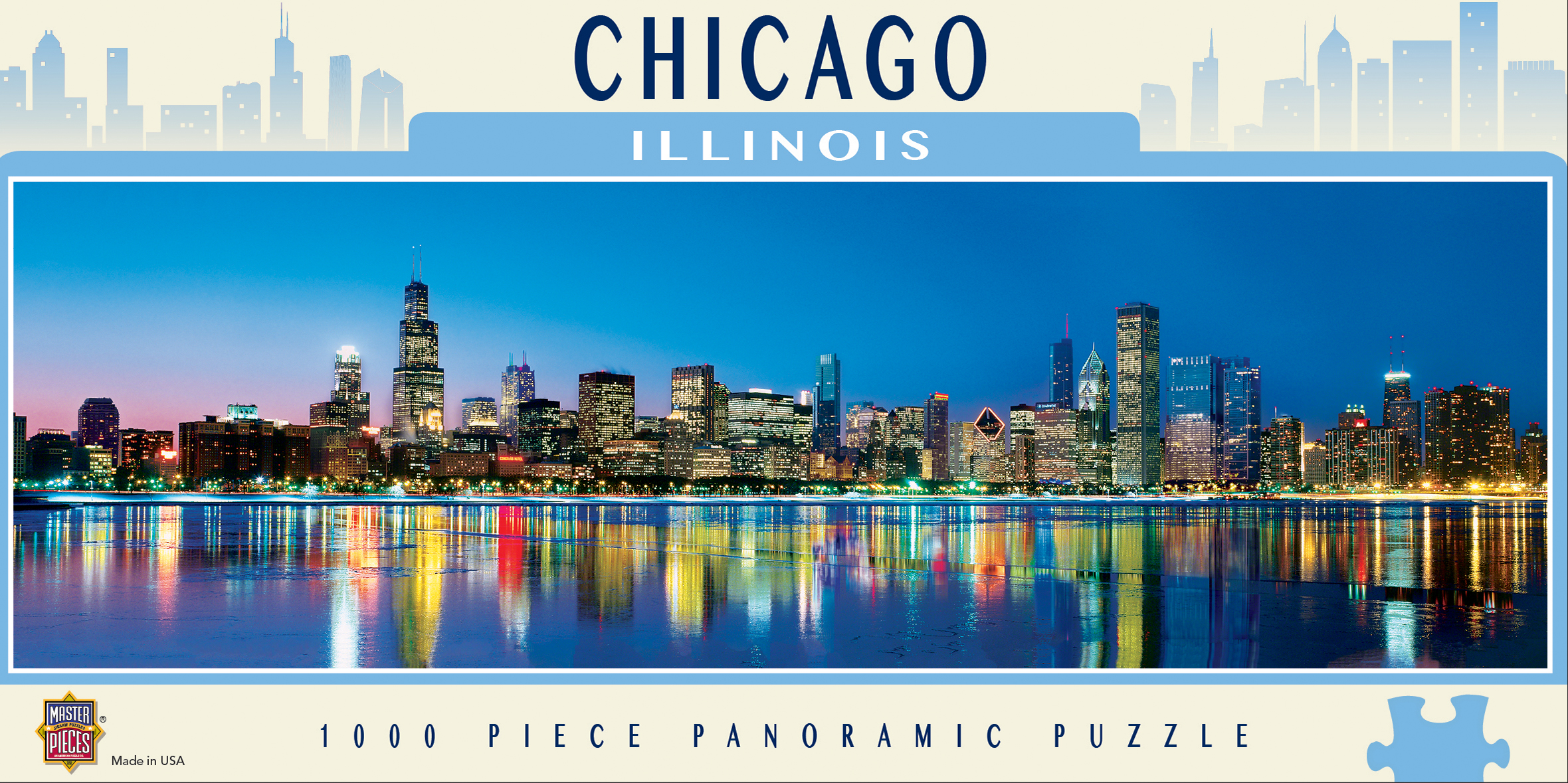 Chicago Skyline / Cityscape Jigsaw Puzzle