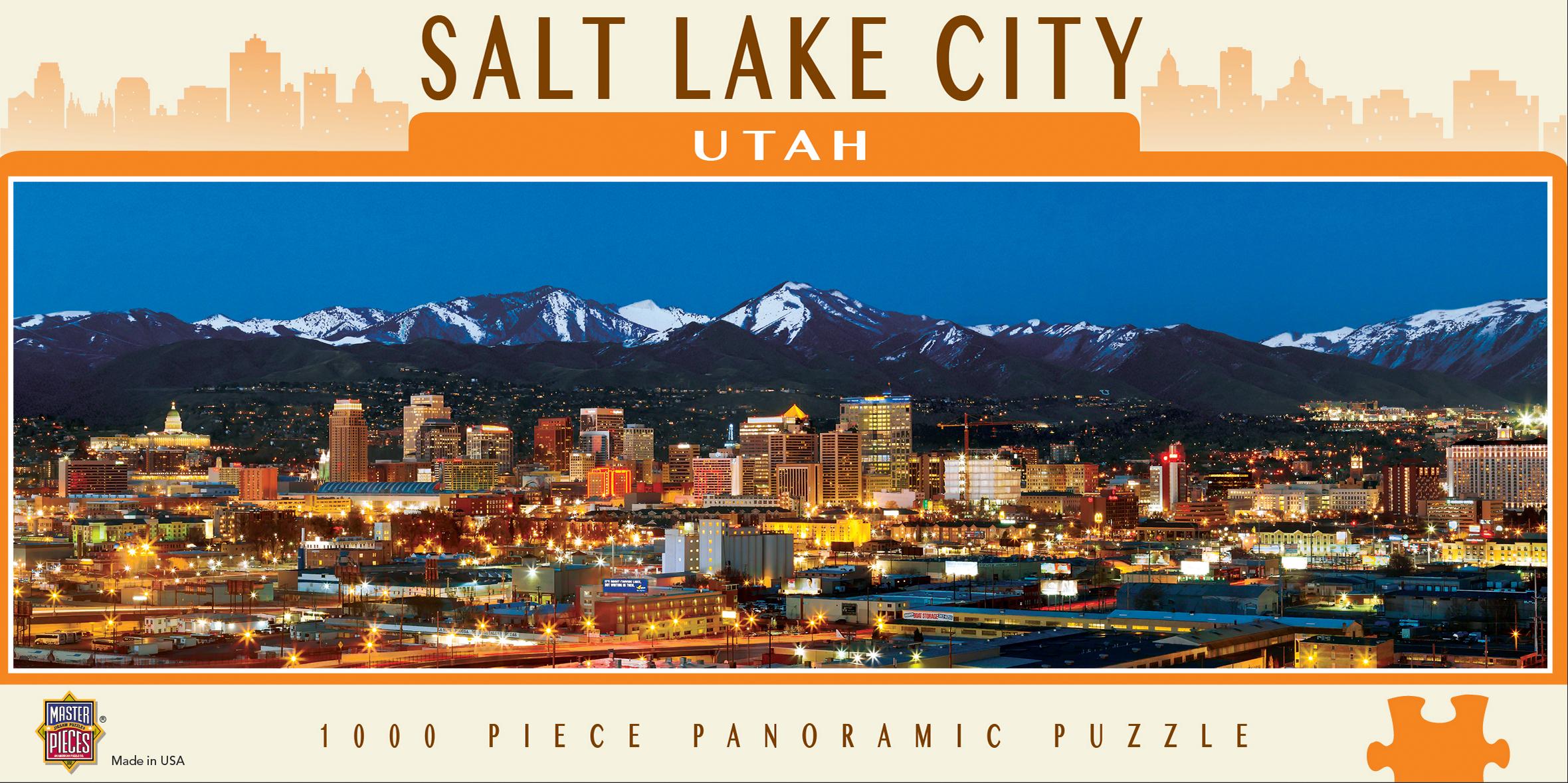 Salt Lake City Skyline / Cityscape Jigsaw Puzzle