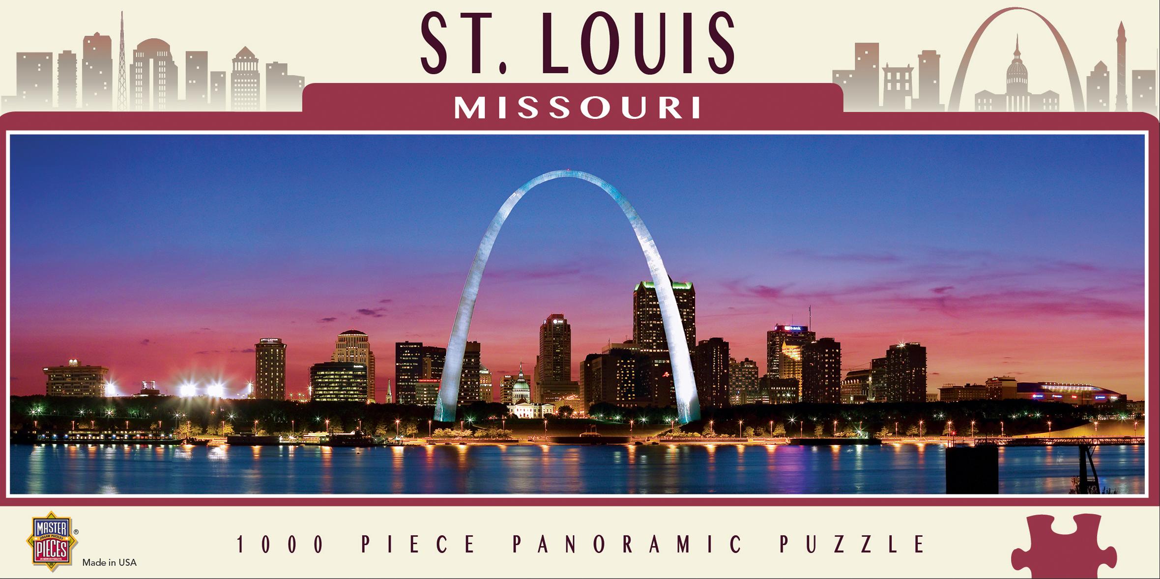 St. Louis Landmarks / Monuments Jigsaw Puzzle