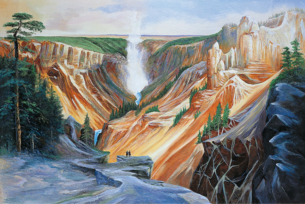 Great Canyon Landscape Jigsaw Puzzle