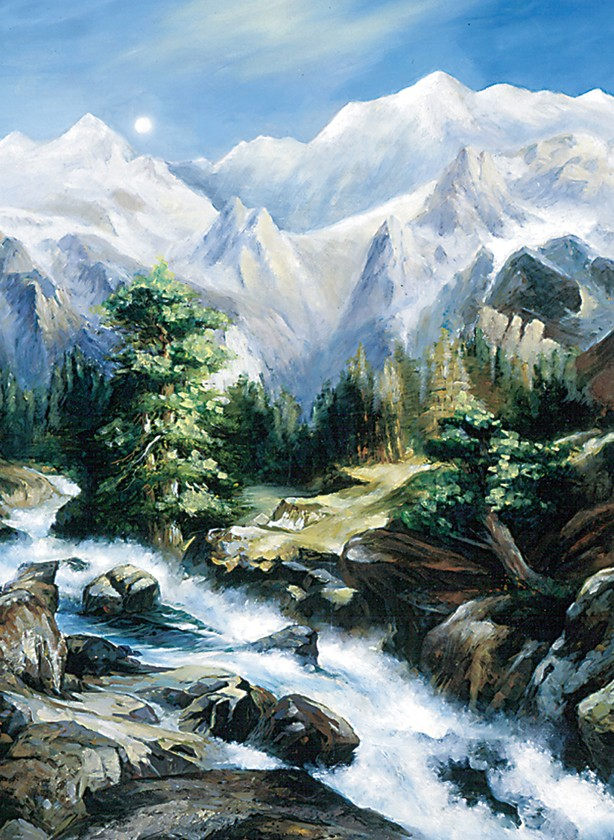 Harmony Mountains Jigsaw Puzzle