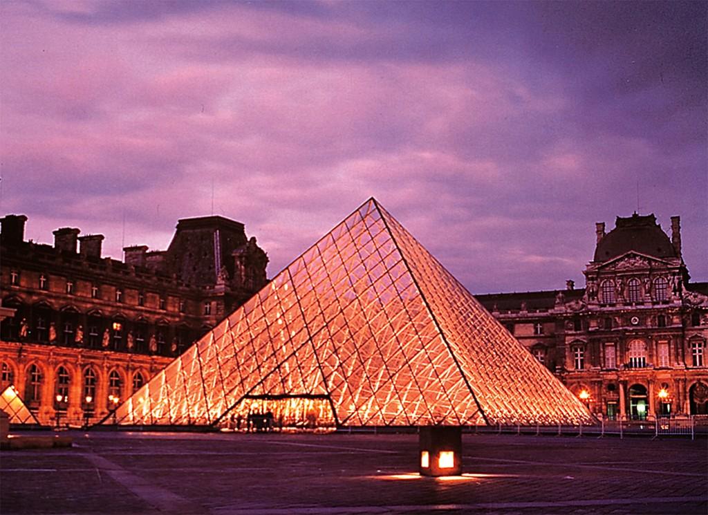 Louvre Pyramid, Paris Landmarks / Monuments Jigsaw Puzzle