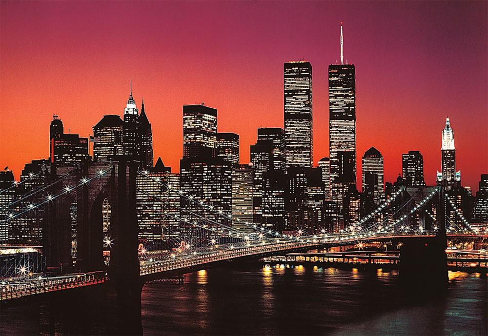 Twilight in New York Skyline / Cityscape Jigsaw Puzzle
