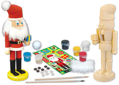 Works of Ahhh... Nutcracker Santa Santa