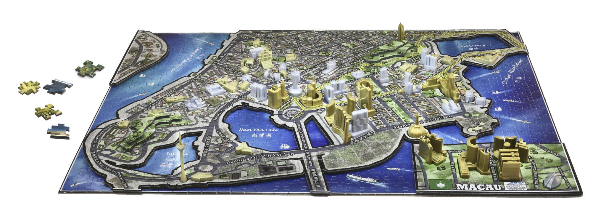 Macau, China Maps / Geography Jigsaw Puzzle