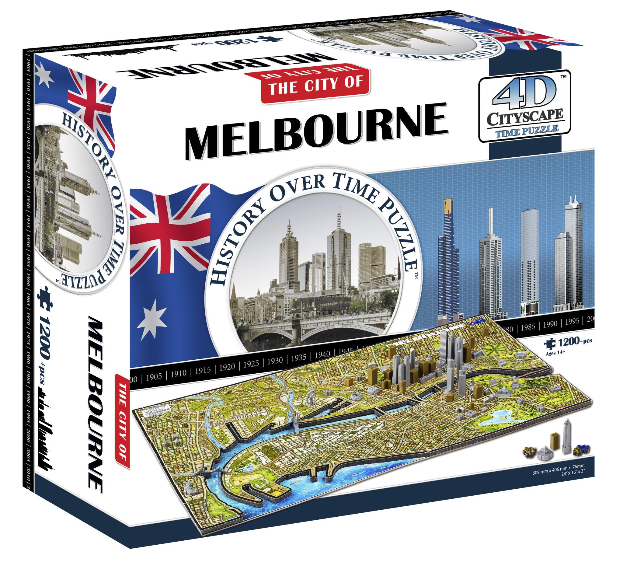Melbourne, Australia Travel Jigsaw Puzzle