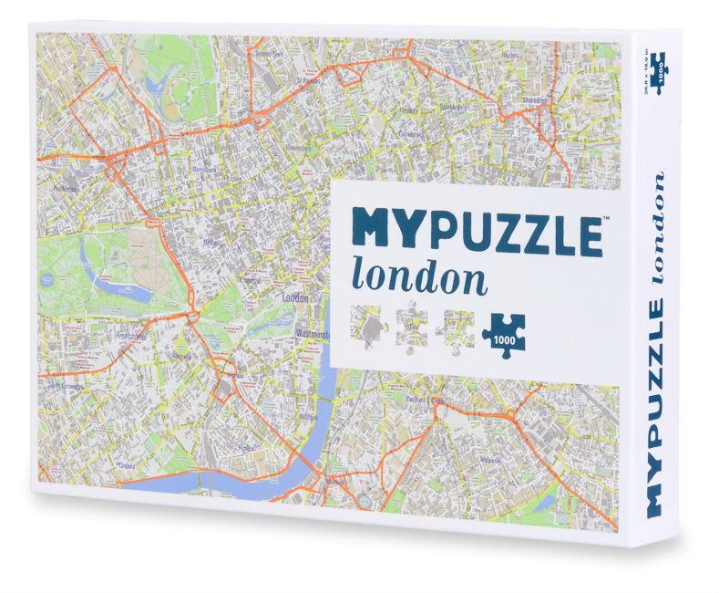 Aquarius Puzzles Subway Map.London Mypuzzle
