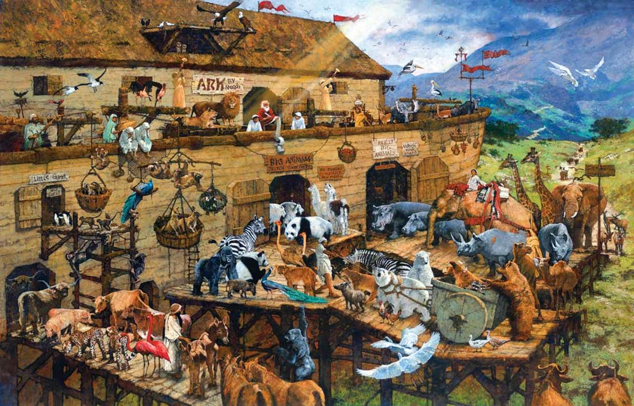 It's A Zoo Animals Jigsaw Puzzle