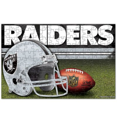 Official NFL Oakland Raiders Sports Children's Puzzles