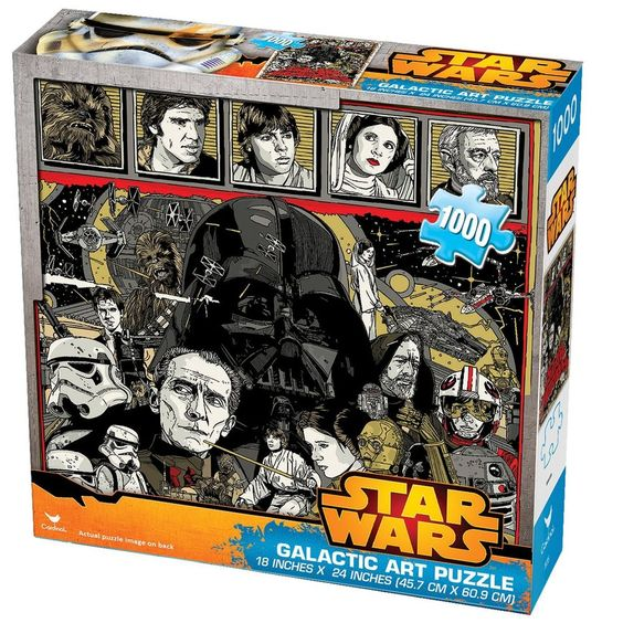 Galactic Art Collage Jigsaw Puzzle