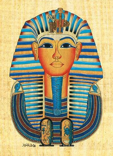 Egyptian-Tutankhamun Mask Cultural Art Jigsaw Puzzle