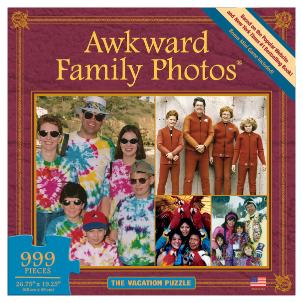The Vacation Puzzle (Awkward Family Photos) People Jigsaw Puzzle