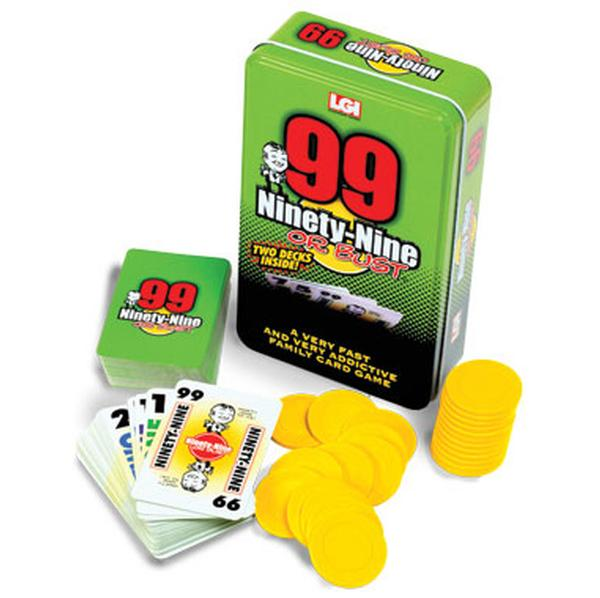 Ninety-Nine or Bust Children's Games Card Game