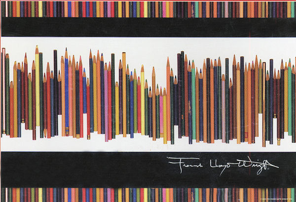 Frank Lloyd Wright: Pencils Photography Jigsaw Puzzle