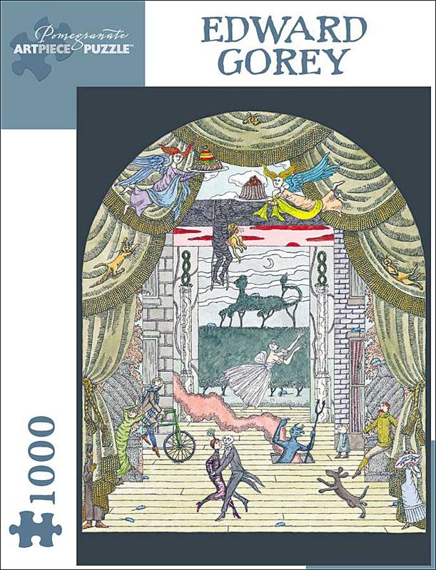 Edward Gorey Fantasy Jigsaw Puzzle