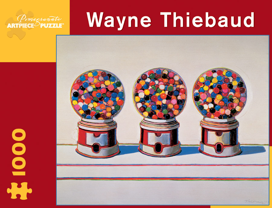 Wayne Thiebaud: Three Machines Food and Drink Jigsaw Puzzle