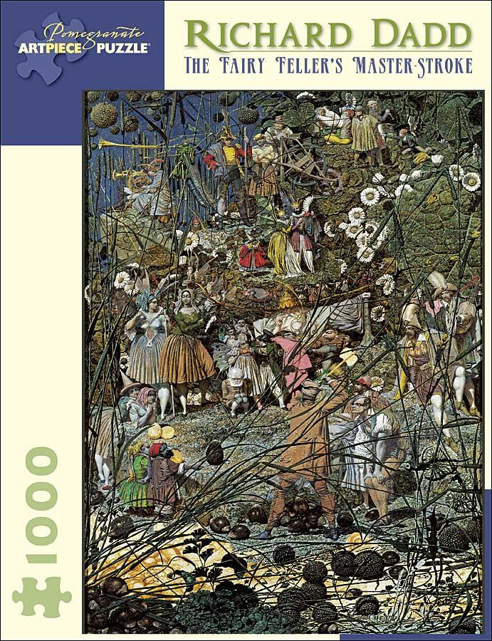 Dadd Fairy Feller Fantasy Jigsaw Puzzle