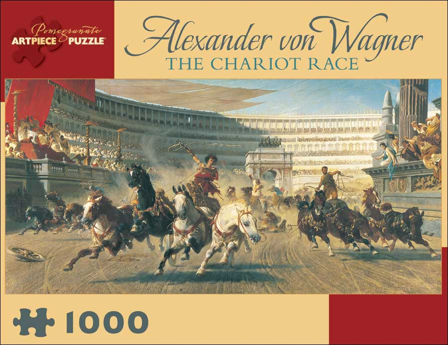 The Chariot Race Italy Jigsaw Puzzle