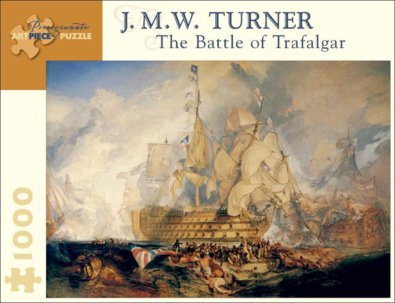 The Battle of Trafalgar Boats Jigsaw Puzzle
