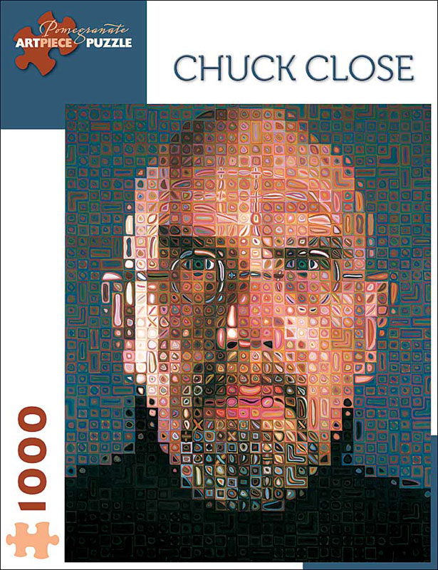 Chuck Close Contemporary & Modern Art Jigsaw Puzzle