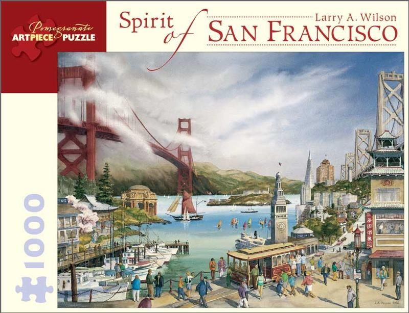 Spirit of San Francisco Landmarks / Monuments Jigsaw Puzzle