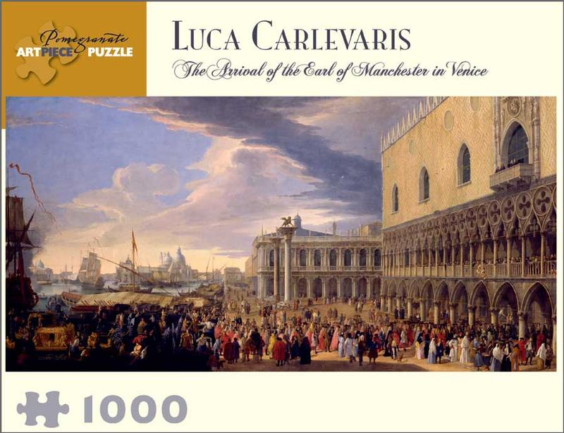 Luca Carlevarious: The Arrival of the Earl of Manchester in Venice Renaissance Jigsaw Puzzle