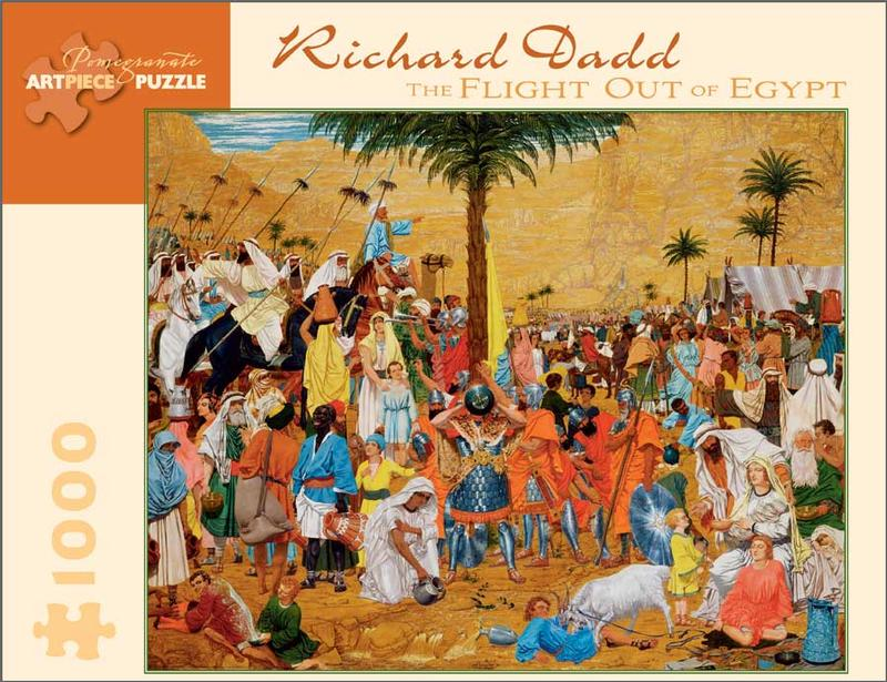 Richard Dadd: The Flight Out of Egypt Egypt Jigsaw Puzzle