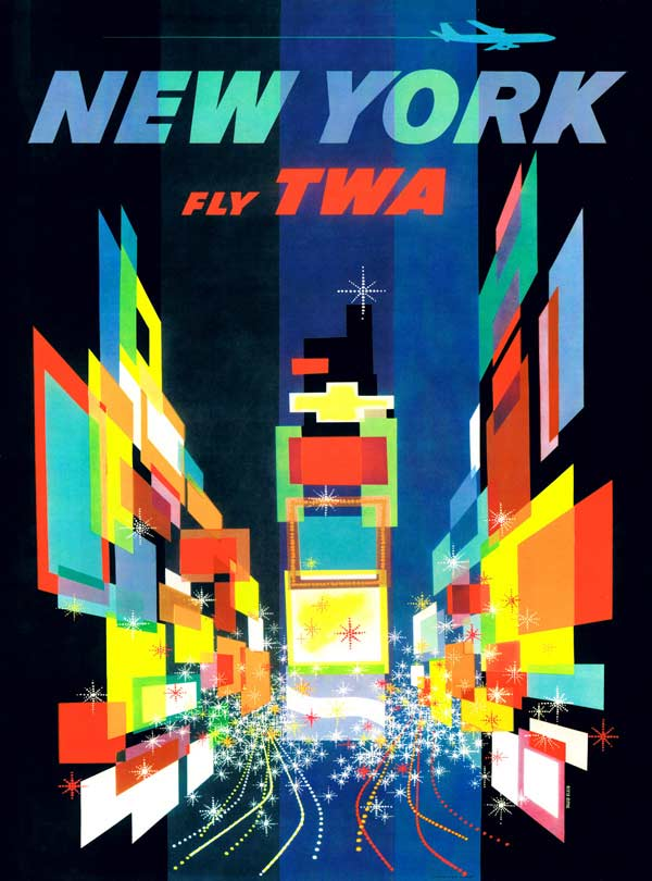 The Big Apple (TWA Travel Posters) Travel Jigsaw Puzzle