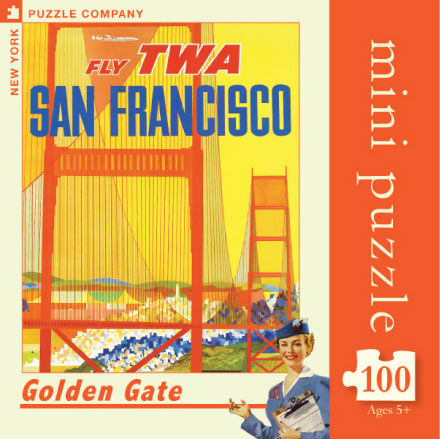 Golden Gate (Mini) Travel Jigsaw Puzzle