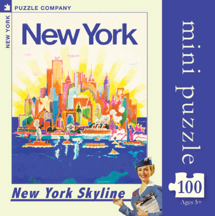 NYC Skyline  (Mini) New York Jigsaw Puzzle