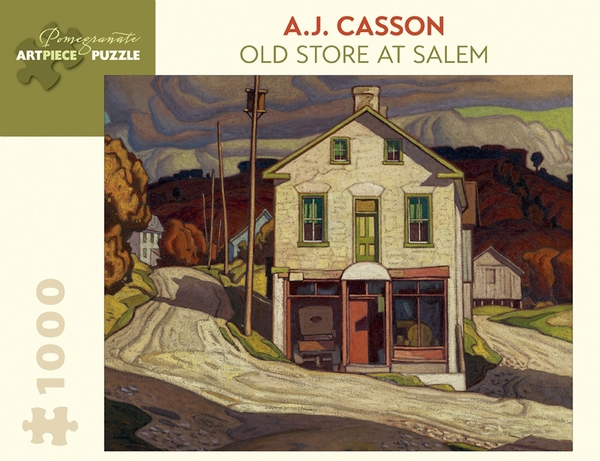 Old Store At Salem Contemporary & Modern Art Jigsaw Puzzle