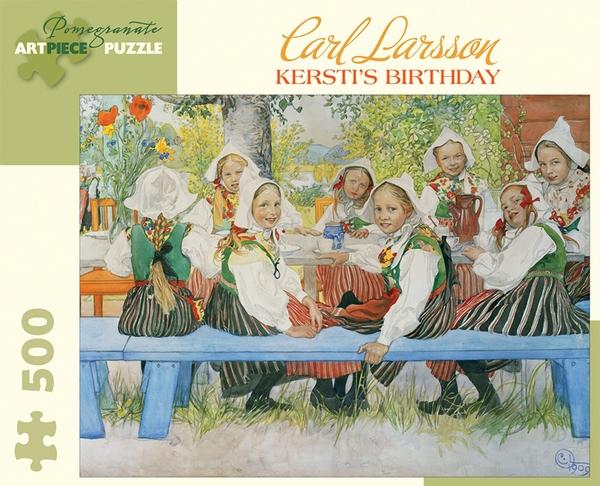 Kersti's Birthday Fine Art Jigsaw Puzzle