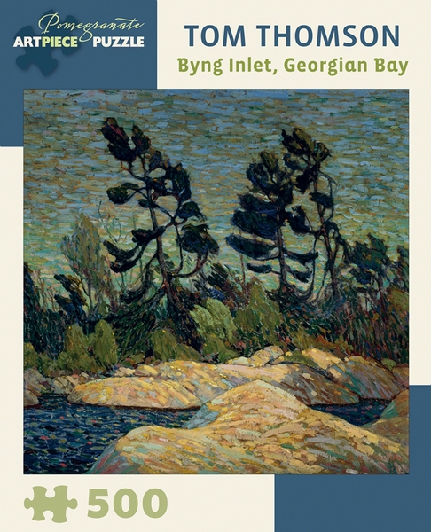 Byng Inlet, Georgian Bay Contemporary & Modern Art Jigsaw Puzzle