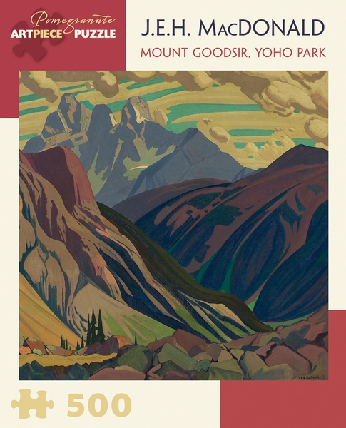 Mount Goodsir, Yoho Park Mountains Jigsaw Puzzle