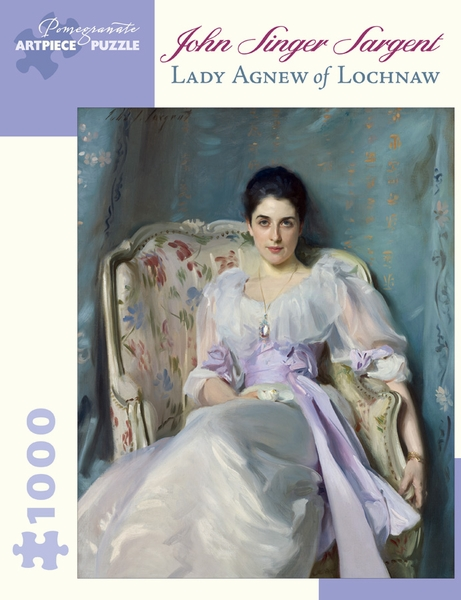 Lady Agnew Of Lochnaw Fine Art Jigsaw Puzzle