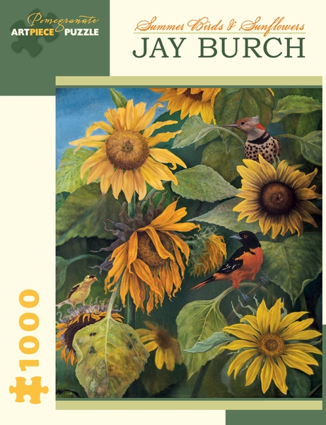 Summer Birds & Sunflowers - Scratch and Dent Birds Jigsaw Puzzle