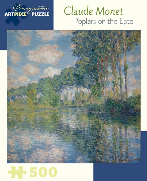 Poplars On The Epte Fine Art Jigsaw Puzzle