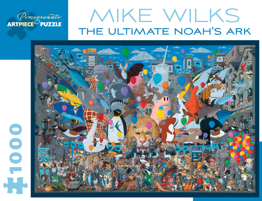 The Ultimate Noah's Ark Animals Jigsaw Puzzle