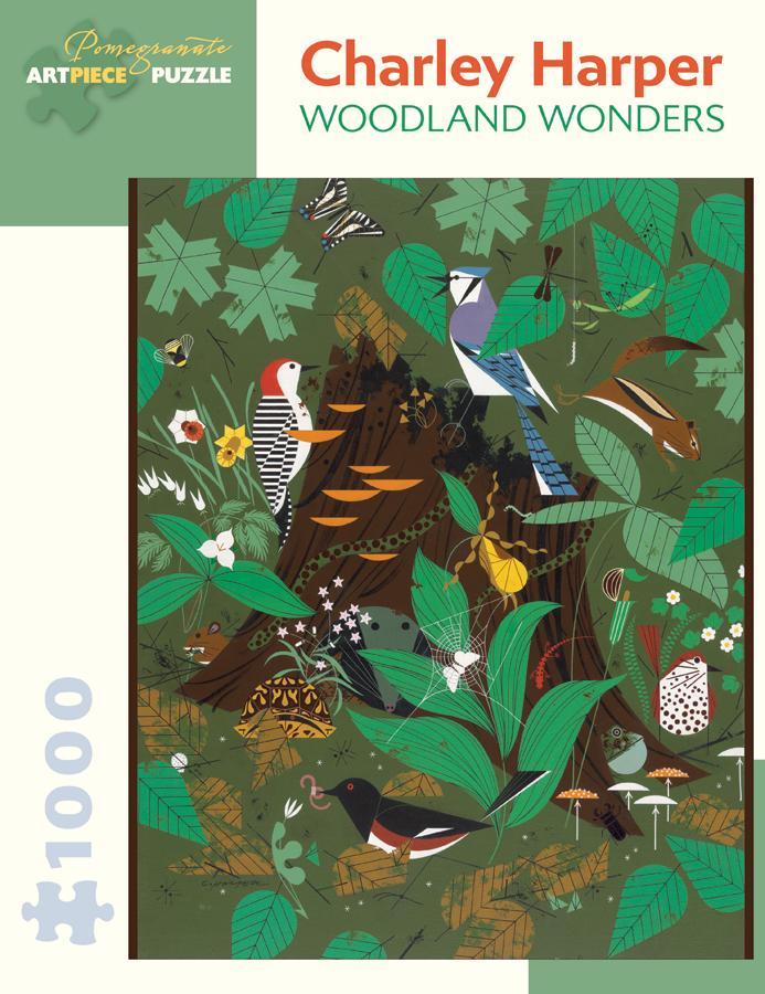 Woodland Wonders Birds Jigsaw Puzzle