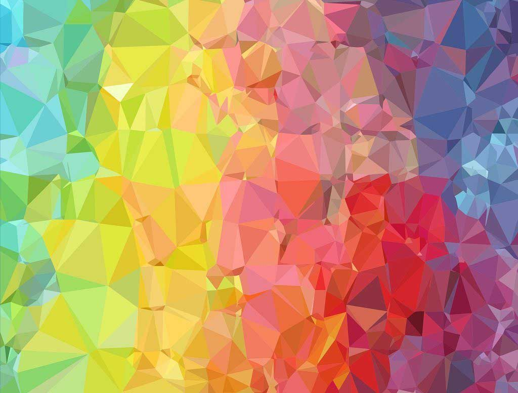 Crinkle Rainbow Abstract Jigsaw Puzzle