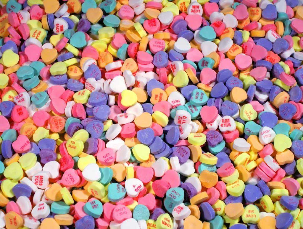 Candy Hearts Valentine's Day Jigsaw Puzzle