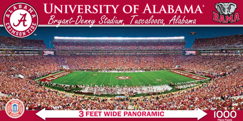 The University Of Alabama Jigsaw Puzzle Puzzlewarehouse Com