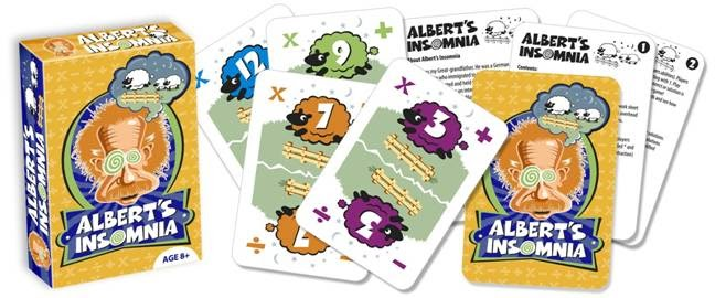 Albert's Insomnia Educational Card Game