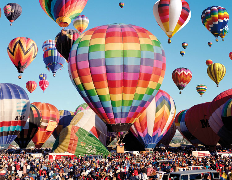 Albuquerque Balloon Fiesta - Scratch and Dent Balloons Jigsaw Puzzle