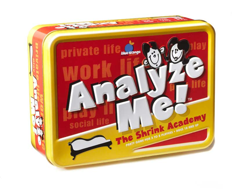 Analyze Me! Conversational Games Card Game