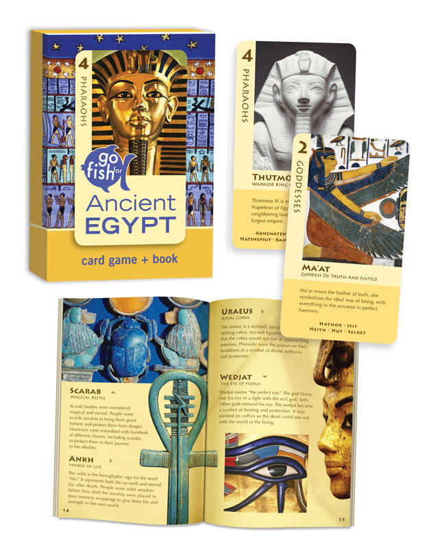 Go Fish: Ancient Egypt Egypt Card Game